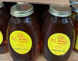 sourwood honey 1lb jar