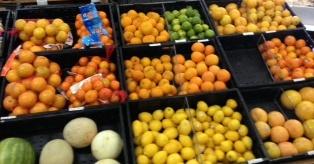 Citrus aisle