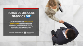 Portal SAP de proveedores