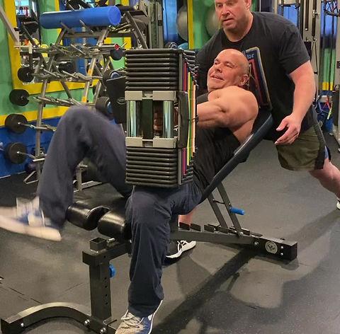 160 lbs incline bench press