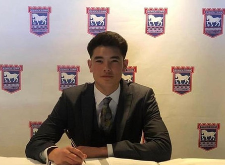 Player Progresses to a Full Time Scholar at Ipswich Town