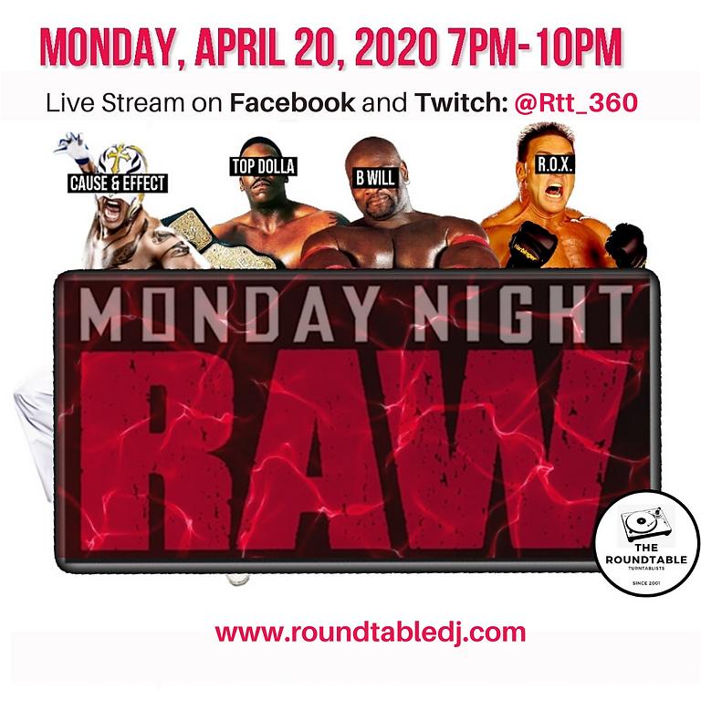 Monday Night Raw: The Vinyl Cage Match