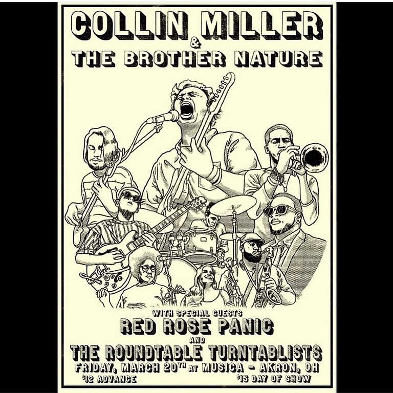 Collin Miller & The Brother Nature w/ Red Rose Panic and the ALL SOUL AFTERPARTY