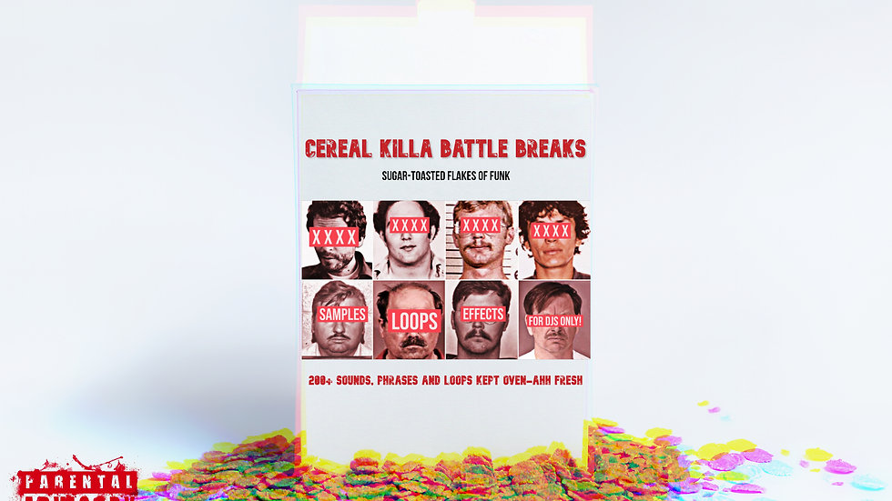 "Cereal Killa Battle Breaks Vol. 1  (7"" Version Digital Download)"
