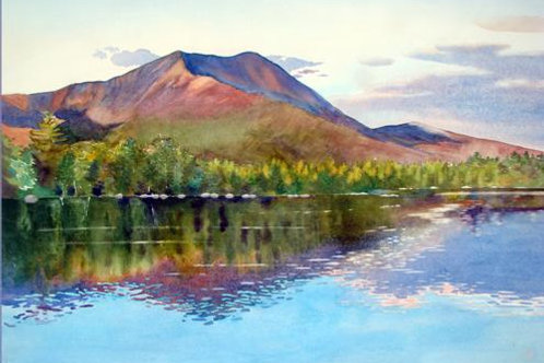 Twilight, Daicy Pond, Baxter State Park, Maine