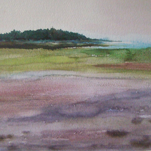 Low Tide, Violet   SOLD