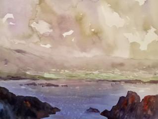 "The ""Beara of Good Tidings"" - Watercolor   in Ireland - September 8 - 15, 2018"