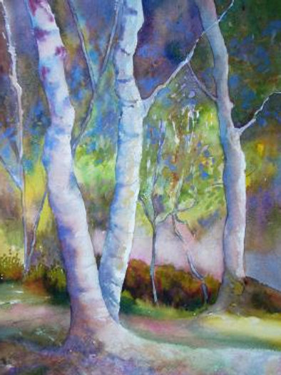 Dancing Trees  SOLD