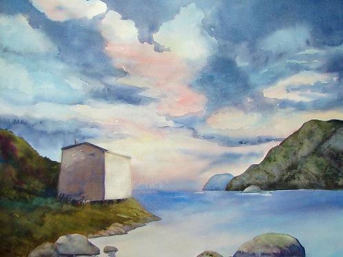 Edge of the Sea, Trinity Bay, Newfoundland  SOLD