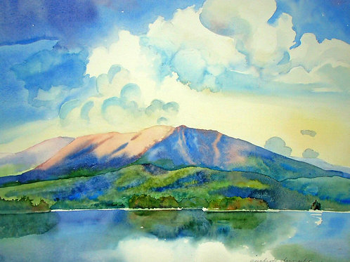 Clouds Roll Around Heaven All Day, Katahdin SOLD