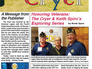 Keith Spiro, Business Strategist & Community Builder, American Legion Award