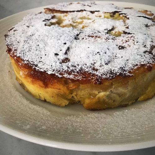 Torta de Manzanas, Miel y Lavanda