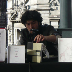 Rojas Pachas en Fil Zocalo Mexico