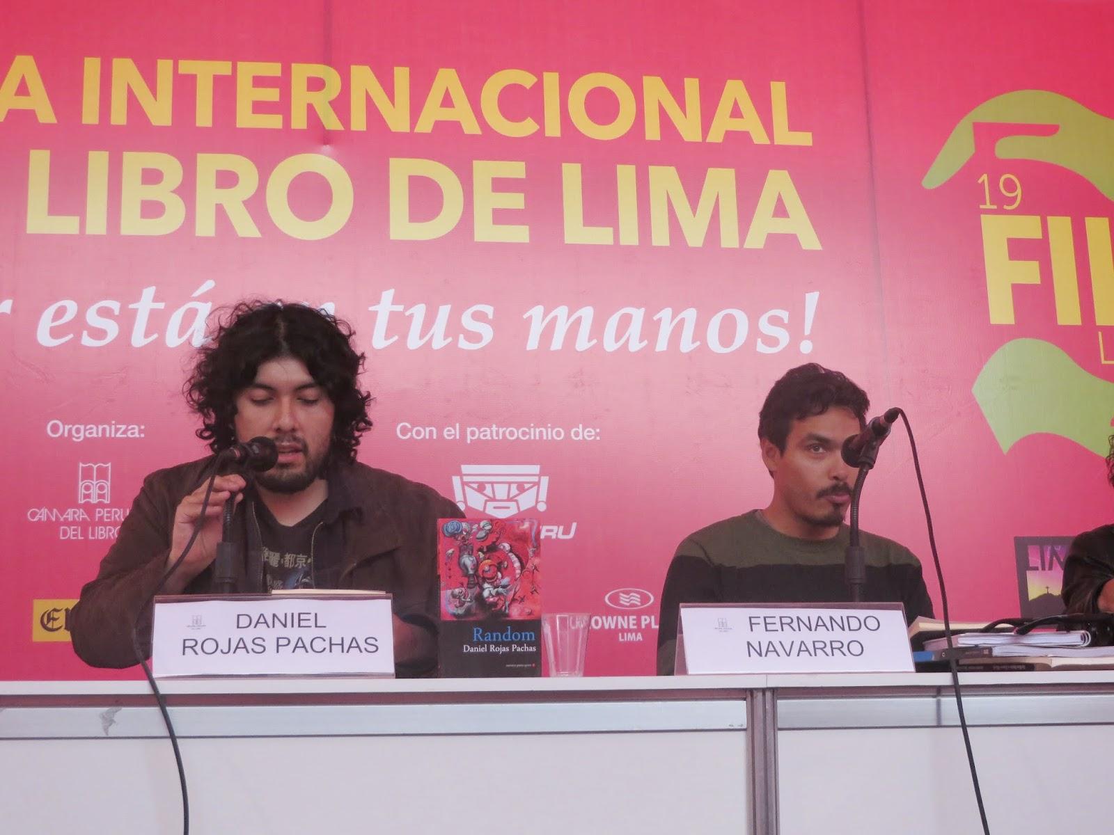 Presentación Random FIL Lima 2014