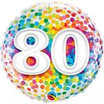 Age 80 Rainbow Confetti Foil.jpg