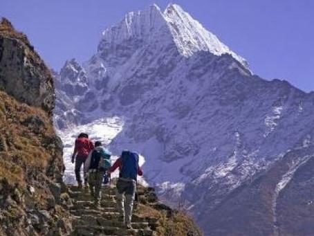 Shaun's Everest Trek Charity Challenge