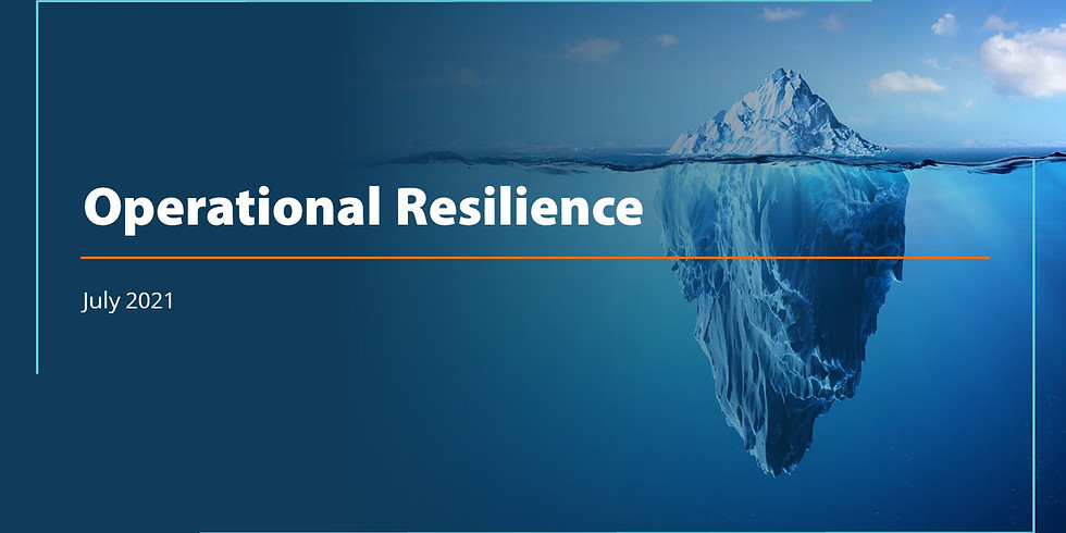 Operational Resilience: An Overview