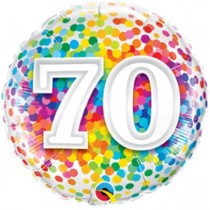 Age 70 Rainbow Confetti Foil.jpg