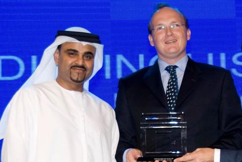 Dr Omar & Mark Beer (winner of distingui
