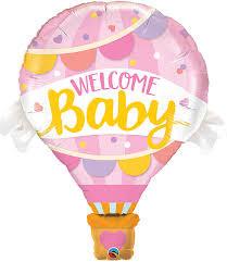 Birth Girl Super Shape Foil Air Balloon.