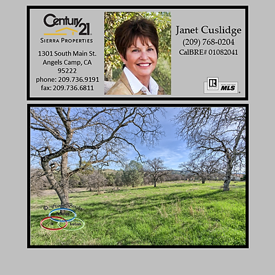 Just Listed:  $310,000/2 Lots/4.88 Acres/668 Murphys Grade Road, Angels Camp, CA