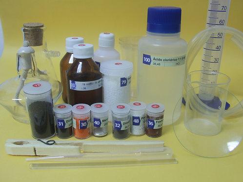 Kit de elementos químicos