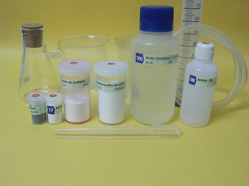 Kit de cinética química