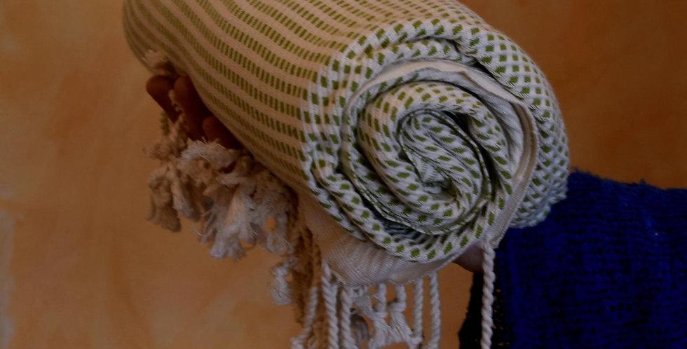 Bamboo towel green