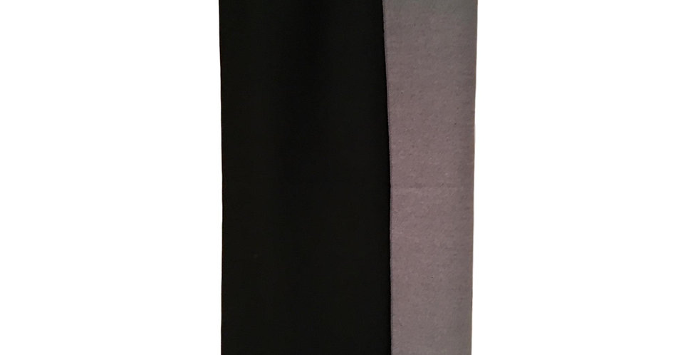 'two tone' in black and grey