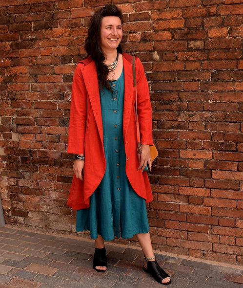 Long coat in nettle
