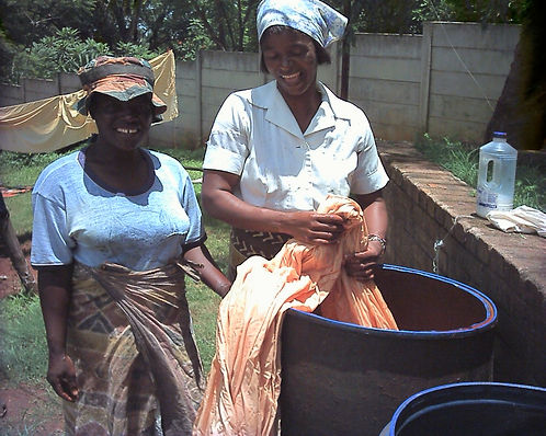 Batik makers in Zimbabwe