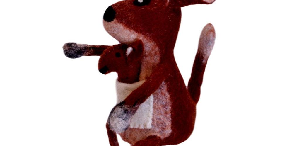 Kirsty the kangaroo