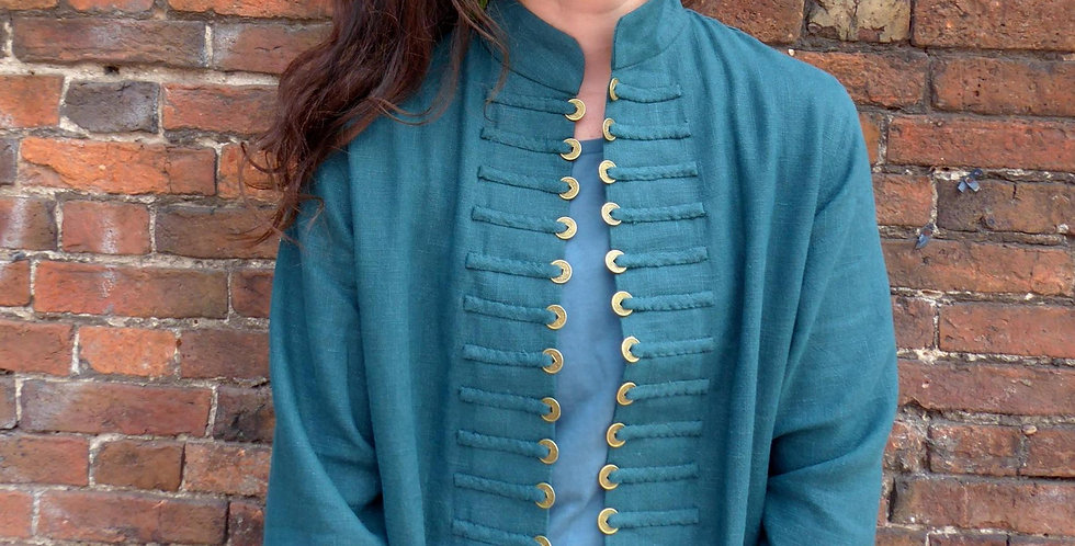 Sergeant Pepper short jacket in nettle