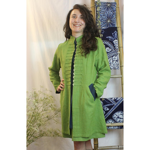 Sergeant Pepper coat in nettle