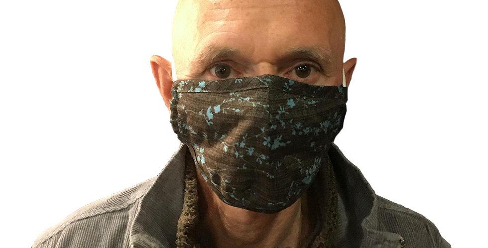 Face mask MEDIUM in Hemp / organic cotton