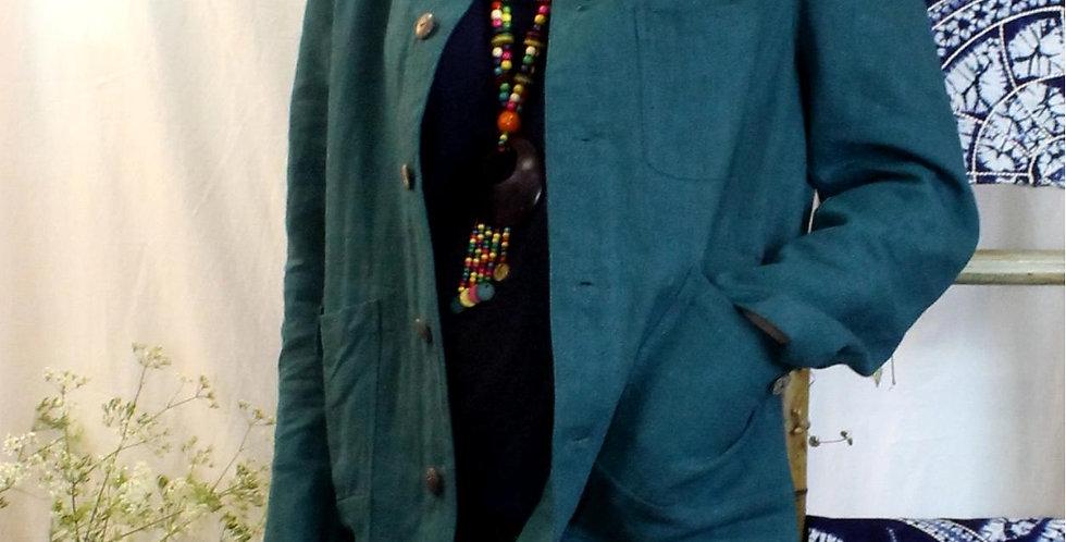 Uni jacket in nettle