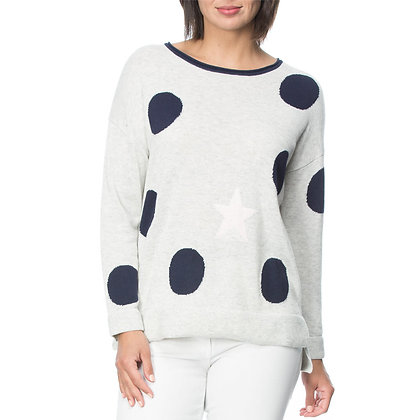 CONTRAST TRIM LARGE SPOT JUMPER