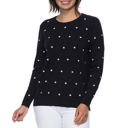 SMALL EMBROIDERED STAR JUMPER