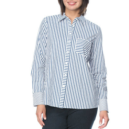ANGLED STRIPE SHIRT