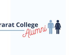 Launching Ararat College Alumni