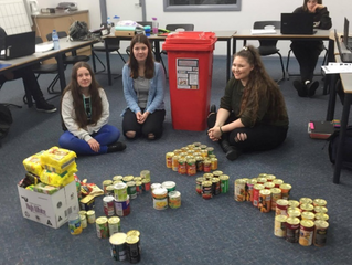VCAL Food Drive Project