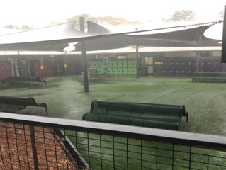 College Experiencing Flash Flooding