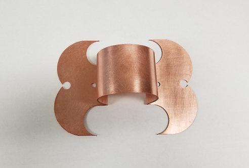 Downspout Strap 48 oz Copper Clover