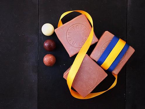 Chocolat body soap - 125g