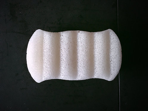 Voodoo Lily 6-wave body Konjac sponge