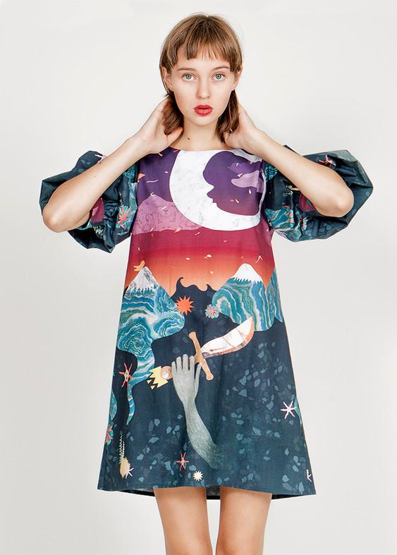 'Hijo de la Luna' dress