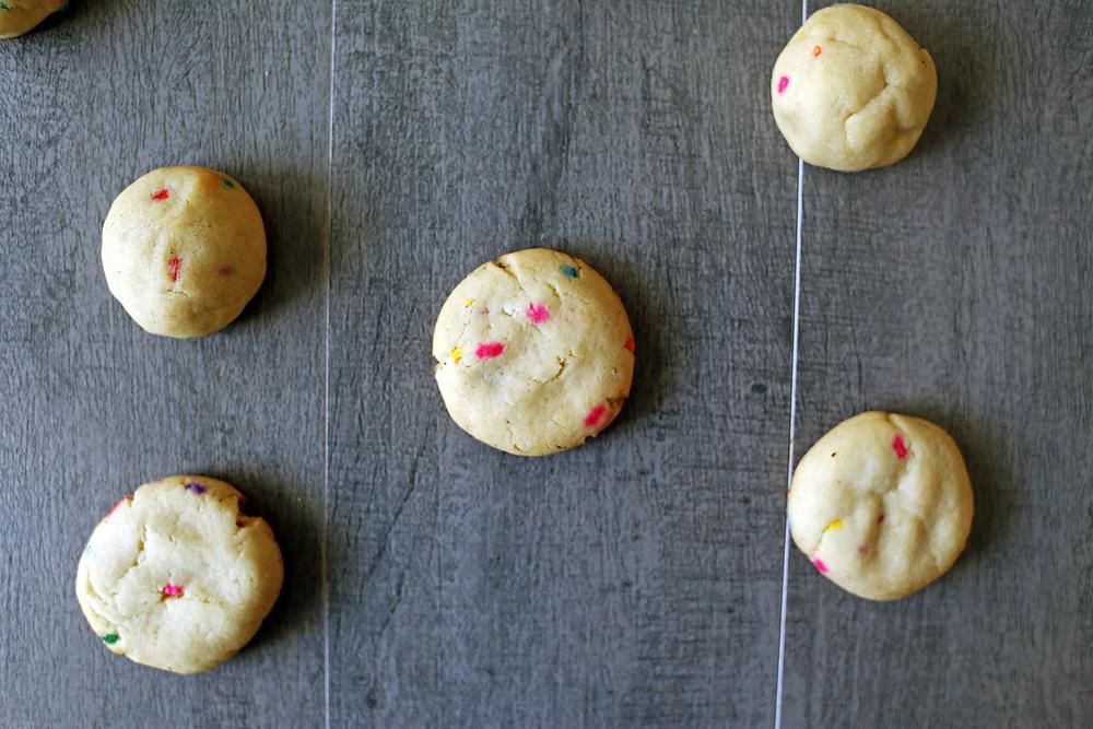 Soft Baked Vegan Sugar Cookies