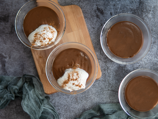 Vegan Chocolate Pudding | Gluten Free - No added refined sugar