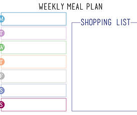 FREE Weeky Planner Printable in Lilac | Simply Living x The Soulful Cook