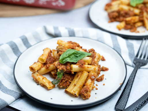 Vegan Baked Ziti - GF & No Added Oil